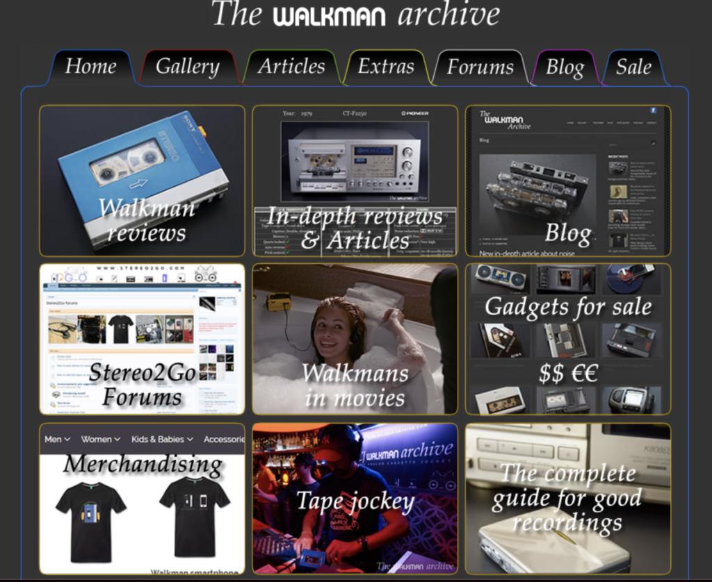 The Walkman Archives